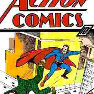 """""""Action Comics # 7"""" - Lançada em dezembro de 1938 mostrava o Homem de Aço em uma de suas primeiras histórias. Avaliada em US$ 304 mil - Divulgação"""