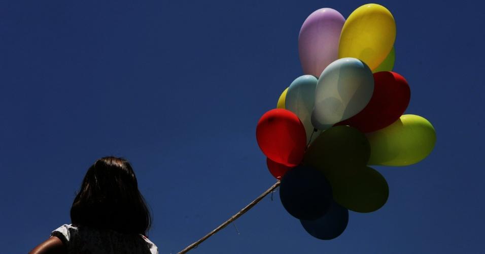 Balões e palavras