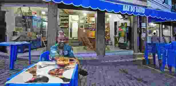 Bar do David, no morro Chapéu Mangueira (RJ), do empresário David Vieira Bispo - Divulgação/Alessandra Coelho - Divulgação/Alessandra Coelho