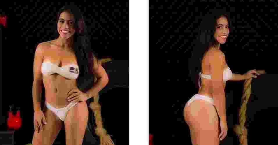 Esta é Caroline, 18 anos, estudante de Jornalismo, de Guarulhos - John Edgard / Academia Xtreme Gold Team / Fitness Model Agency
