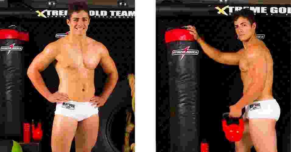 Este é Luan, 20 anos, estudante, de Minas Gerais - John Edgard / Academia Xtreme Gold Team / Fitness Model Agency