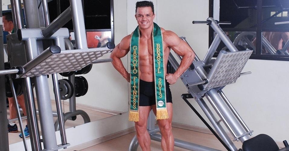 e6b6c613096 Fotos  Garoto Fitness Brasil mostra treino que o fez vencer o ...
