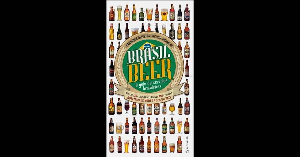 Brasil Beer - O guia de cervejas brasileiras, da Editora Gutenberg