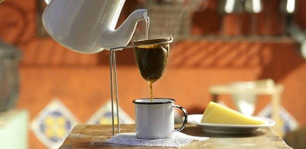 A preparação do café é um exemplo do uso da filtração