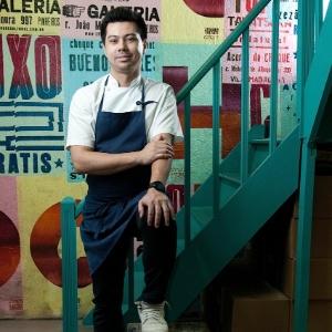 Alberto Landgraf, chef do Epice, eleito o melhor jovem chef da América Latina por publicação britânica - Claudio Belli/Divulgação