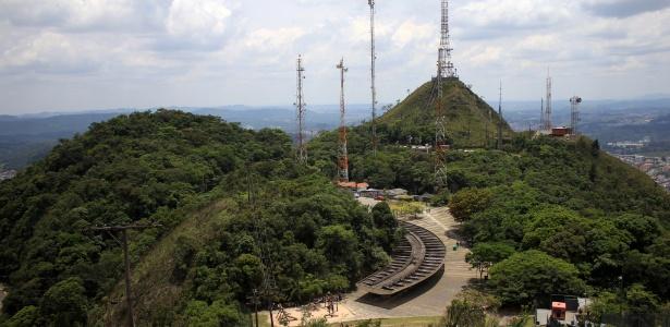 O parque estadual do Jaraguá, em São Paulo