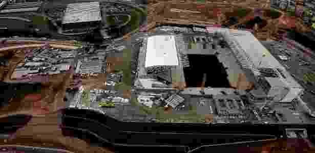 Construção da Arena Corinthians - Jorge Araújo/Folhapress - Jorge Araújo/Folhapress