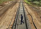 CGU encontra superfaturamento de R$ 108 mi em obra da ferrovia Norte-Sul - Eduardo Knapp/Folhapress