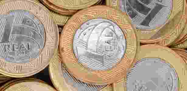Moeda, dinheiro, R$ 1, real, economia, Plano Real, crise, poupança, investimento, salário mínimo - Shutterstock - Shutterstock