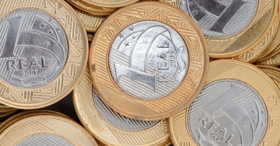 Moeda, dinheiro, R$ 1, real, economia, Plano Real, crise, poupança, investimento, salário mínimo