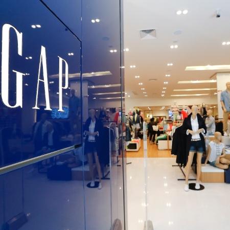 A primeira loja da GAP aberta no Brasil, localizada no Shopping JK, em SP - Moacyr Lopes Junior/Folhapress