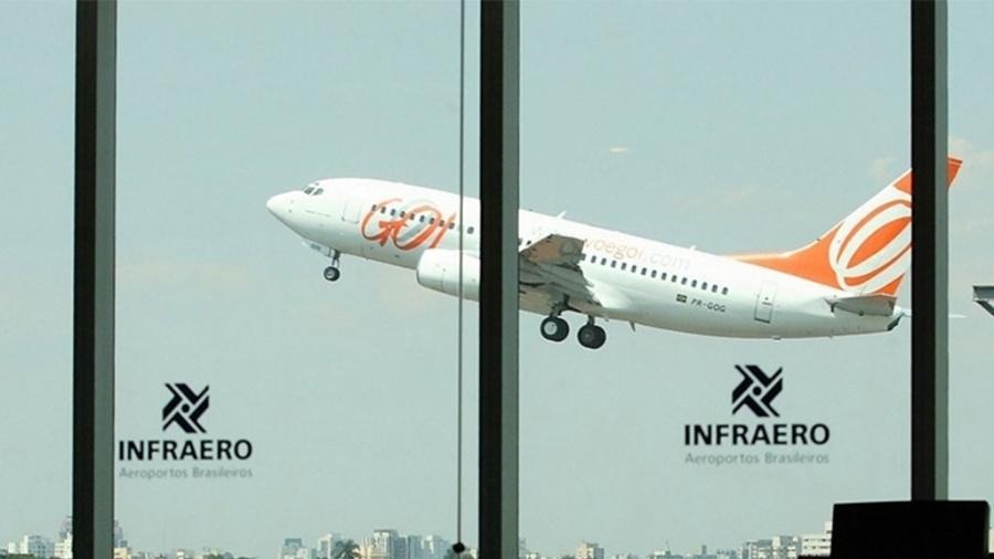 Avião da Gol decola no aeroporto de Congonhas, em São Paulo - Antônio Gaudério/Folhapress