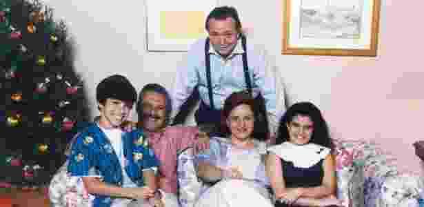 """Elenco de """"Mundo da Lua"""", série infantojuvenil produzida pela TV Cultura em 1991 - Divulgação"""