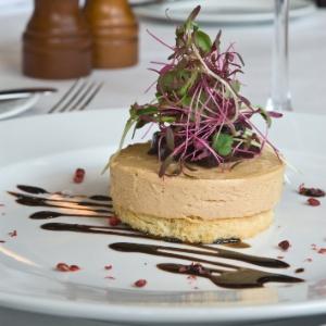 Aperitivo de foie gras