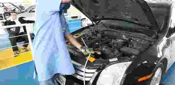 inspeção carro vistoria - Moacyr Lopes Junior/Folhapress - Moacyr Lopes Junior/Folhapress