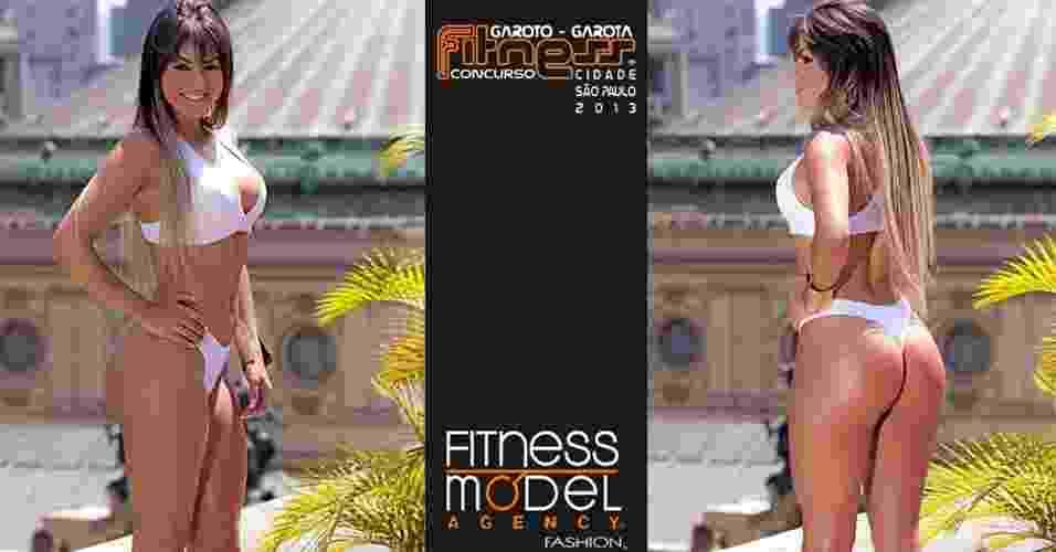 21.out.2013 - Esta é Thaisa, 20 anos, designer, de São Paulo - John Edgard / Academia K@2/ Fitness Model Agency