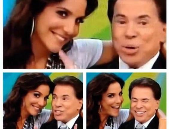 Ivete Sangalo e Silvio Santos formam uma inédita dupla de humor na TV