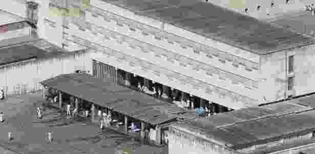 Imagem aérea do Centro de Internamento e Reeducação, que fica dentro do Complexo da Papuda, no Distrito Federal - Sergio Lima - 21.nov.2013/Folhapress