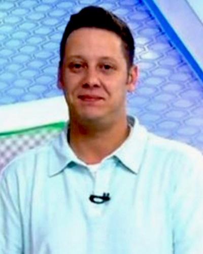 Bruno Laurence, repórter da TV Globo