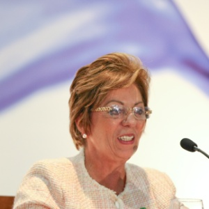 A governadora do Rio Grande do Norte, Rosalba Ciarlini