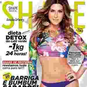 Fernanda Paes Leme - capa da Shape de fevereiro - Divulgação/Shape