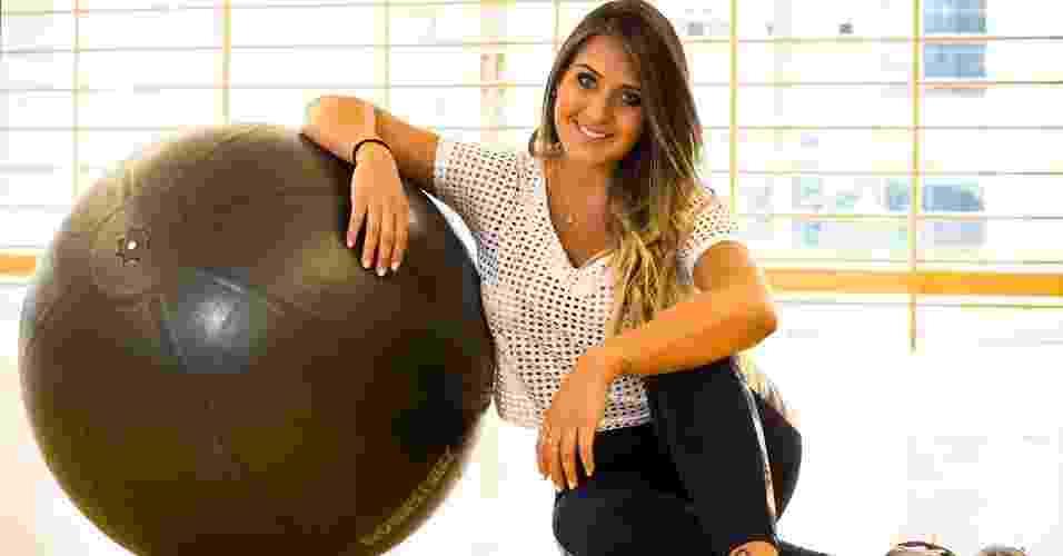 Laryssa Oliveira - affair do jogador Neymar - abre do álbum - Rodrigo Paiva/UOL. Agradecimento: Academia Competition e Live!