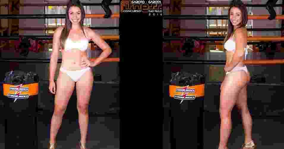Esta é Amanda, 18 anos, estudante de Educação Física, de Santo André - John Edgard/Academia K@2/Fitness Model Agency