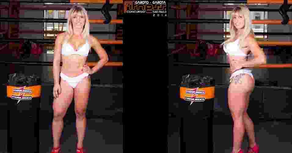 Esta é Bárbara, 30 anos, comerciante, de Guarulhos - John Edgard/Academia K@2/Fitness Model Agency