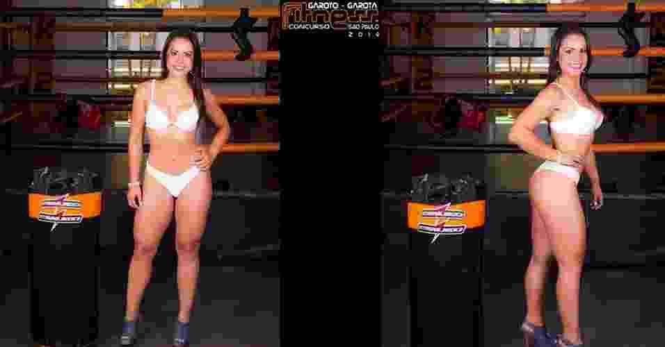 Esta é Carla, 27 anos, agente de turismo, de Andradas - John Edgard/Academia K@2/Fitness Model Agency