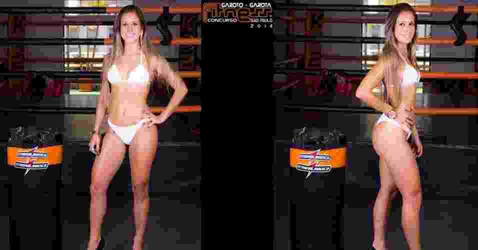 Esta é Francielle, 22 anos, promotora de eventos, de São Bernardo do Campo - John Edgard/Academia K@2/Fitness Model Agency