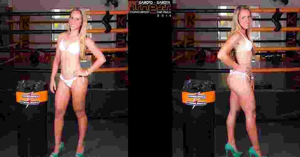 Esta é Giovanna, 18 anos, vendedora, de Caraguatatuba - John Edgard/Academia K@2/Fitness Model Agency