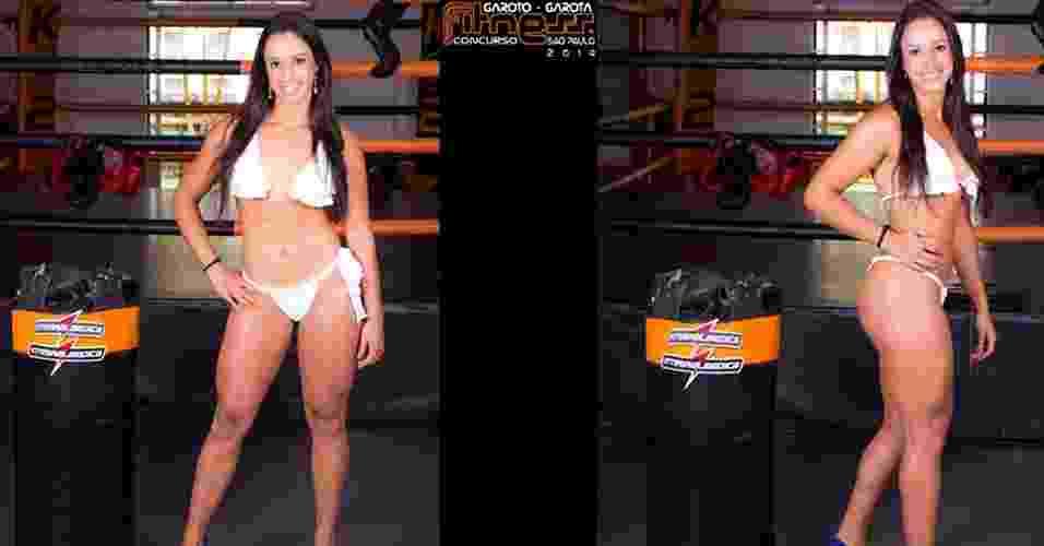 Esta é Jéssica, 18 anos, estudante de Ciências Contábeis, de São Paulo - John Edgard/Academia K@2/Fitness Model Agency