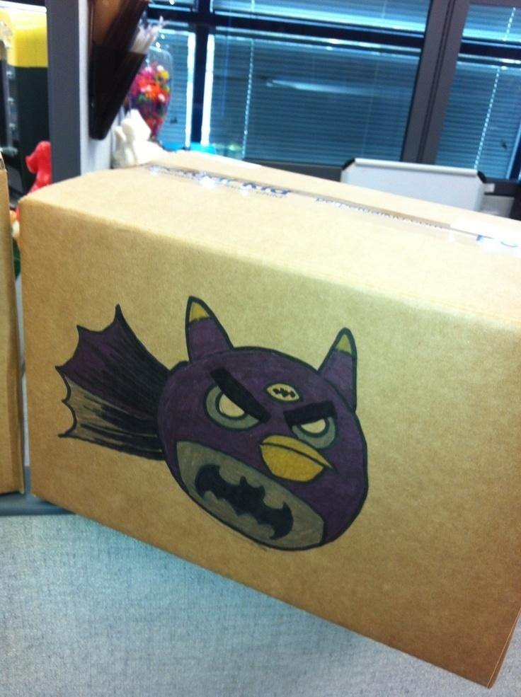 Guia para iniciantes no Pinterest - Angry Batman Birds