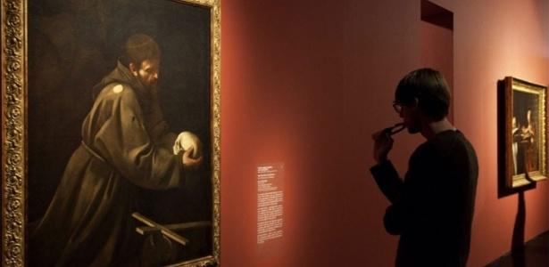2.ago.2012 - Obras do pintor italiano Caravaggio expostas no Masp (São Paulo)