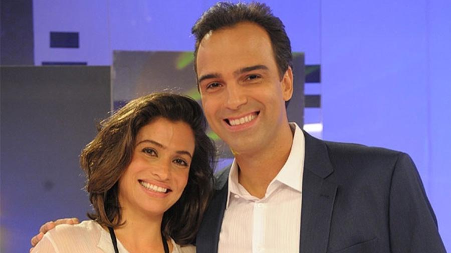 Renata Vasconcelos e Tadeu Schmidt, dois dos apresentadores que estarão na Rússia - João Cotta/Divulgação/TV Globo