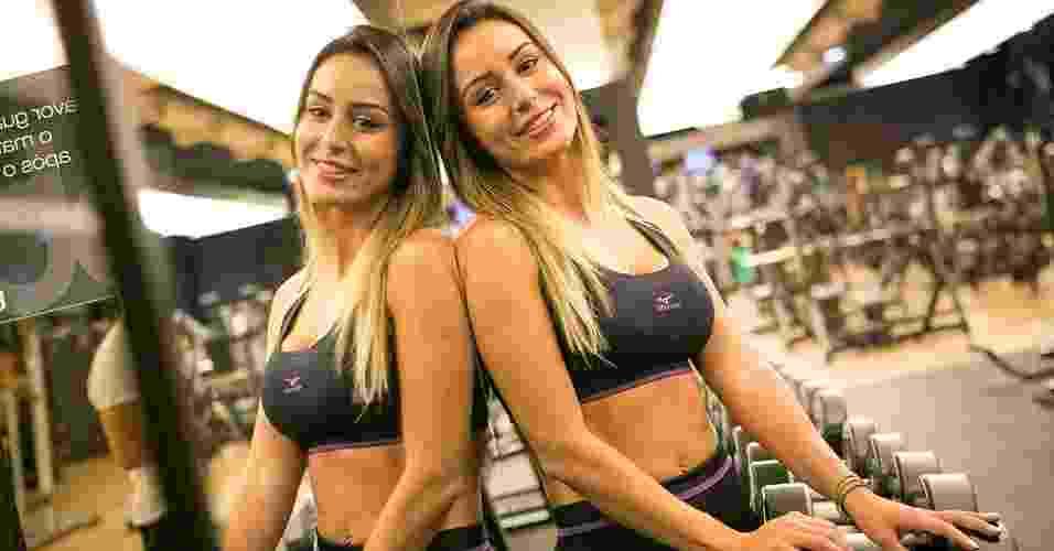 Letícia Santiago - ex-BBB - abre do álbum - Rodrigo Capote/UOL. Agradecimento: Academia Bodytech e Mizuno