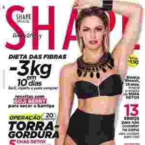 Bianca Rinaldi - atriz - capa da Shape de abril - Gerard Giaume/Divulgação Shape