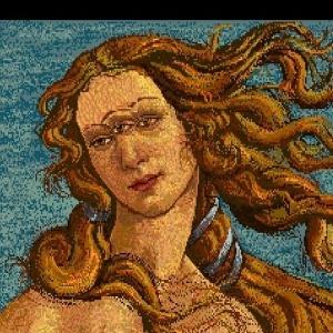 Vênus com três olhos, de Andy Warhol - Reprodução