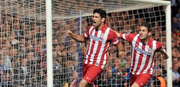 Diego Costa ganhou destaque na Europa quando estava no Atlético de Madri, em 2014