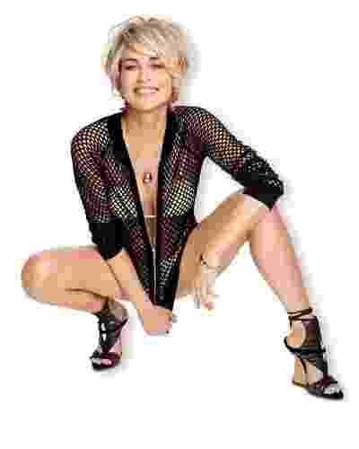 Sharon Stone - capa da Shape de maio - Divulgação Shape