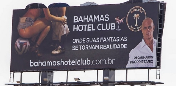 Propaganda polêmica reabre debate sobre turismo sexual durante a ... ca5fccf702951