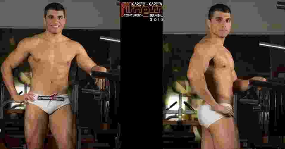 Este é Gustavo, 20 anos, dono de academia, de São Paulo - John Edgard/Academia K@2/Fitness Model Agency