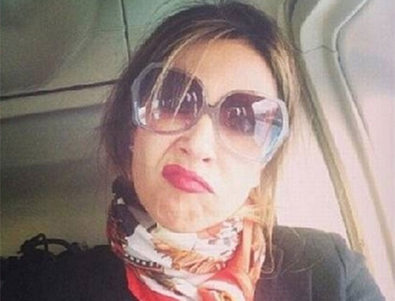 Luciana Gimenez brinca com greve de ônibus