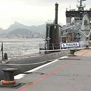 Submarino da frota brasileira