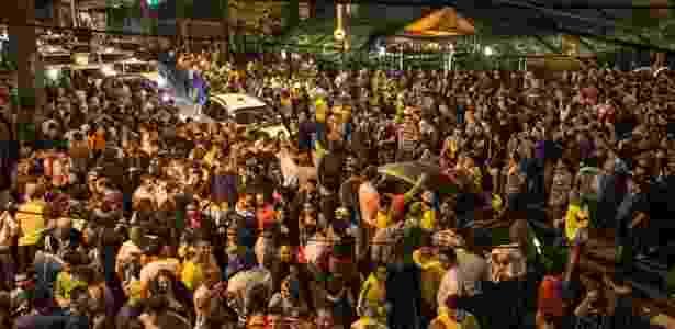 Torcedores e turistas lotaram a Vila Madalena durante a Copa do ano passado - Avener Prado/Folhapress