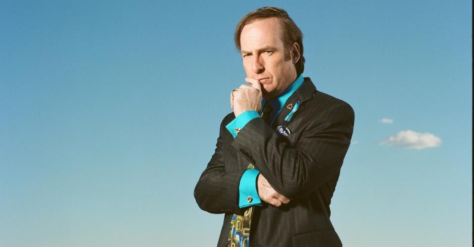 "Bob Odenkirk na série ""Better Call Saul"""