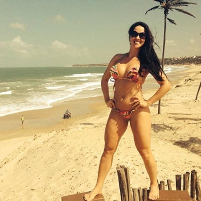 Graciele Lacerda, nova namorada de Zezé di Camargo