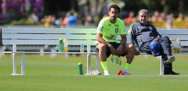 Parreira é coordenador técnico da seleção brasileira
