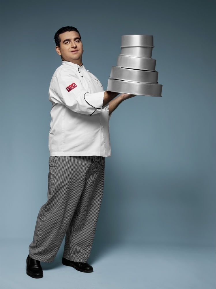 "O confeiteiro Buddy Valastro, do programa ""Cake Boss"" (Discovery Home & Health)"