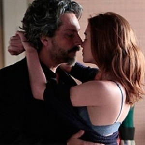 "Alexandre Nero (José Alfredo) contracena com Marina Ruy Barbosa (Maria isis) na novela ""Império"", da Globo"
